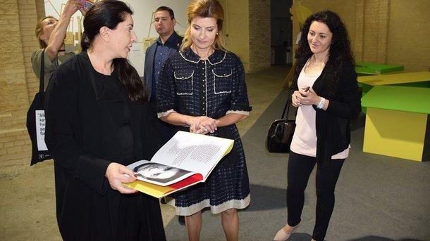 Стиль первых леди: Марина Порошенко и Бриджит Макрон встретились в Нью-Йорке