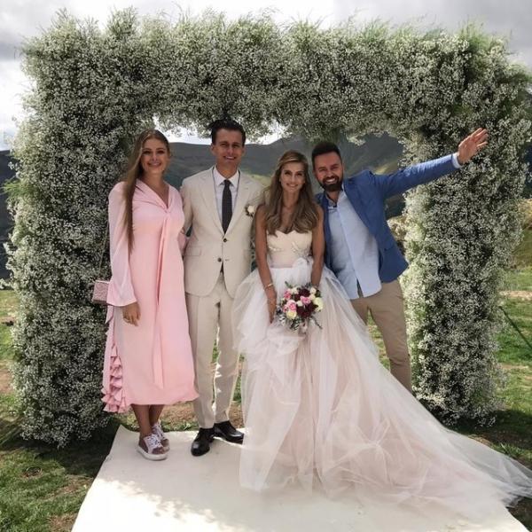 Звездные гости и клятвы в горах: подробности свадьбы Александра Скичко