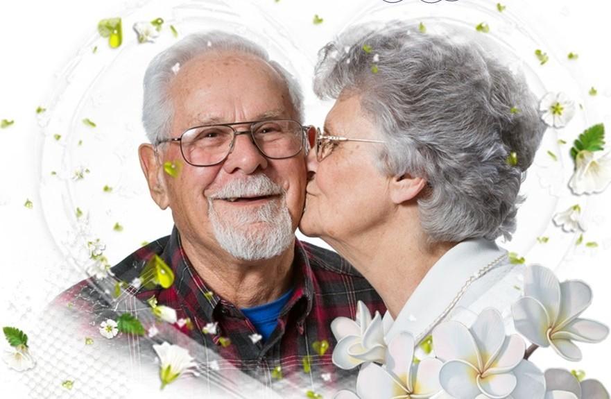 Открытка ко дню бабушки и дедушки, лет стих открытку