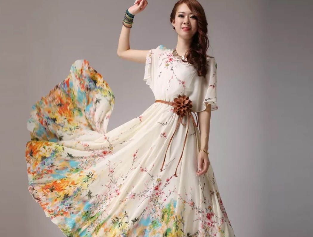 Платья из шифона – идеальная оправа для женственности