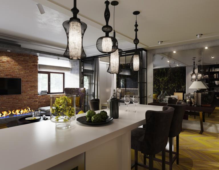 Светильники Лофт: важная декоративная составляющая дизайна помещения, оформленного в индустриальном стиле