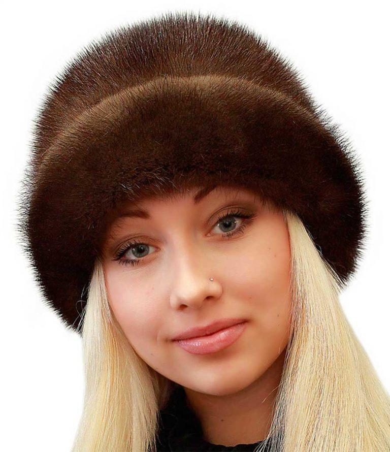 Женская норковая шапка: модные фасоны 2019 года