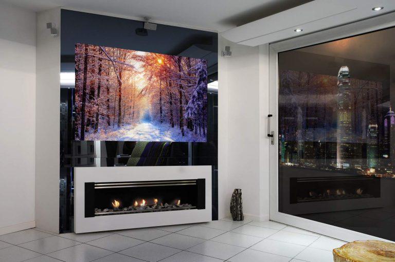 Зеркальный телевизор: уникальное оформление классического плоского телевизора с жидкокристаллическим экраном
