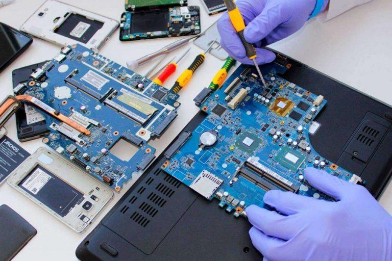 Меры безопасности при ремонте ноутбука