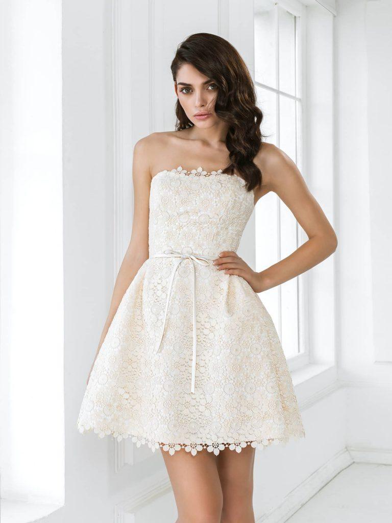 Короткие свадебные платья: почему стоит выбрать?