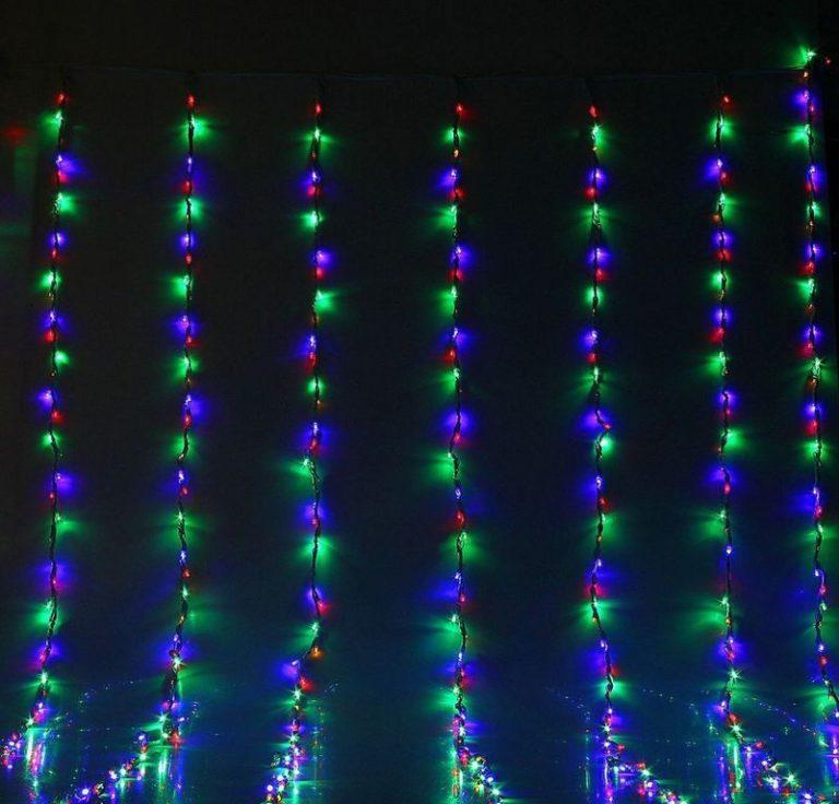 Разновидности светодиодных уличных гирлянд