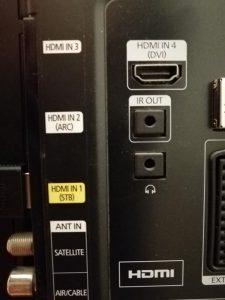Как подключить PS4 к телевизору?