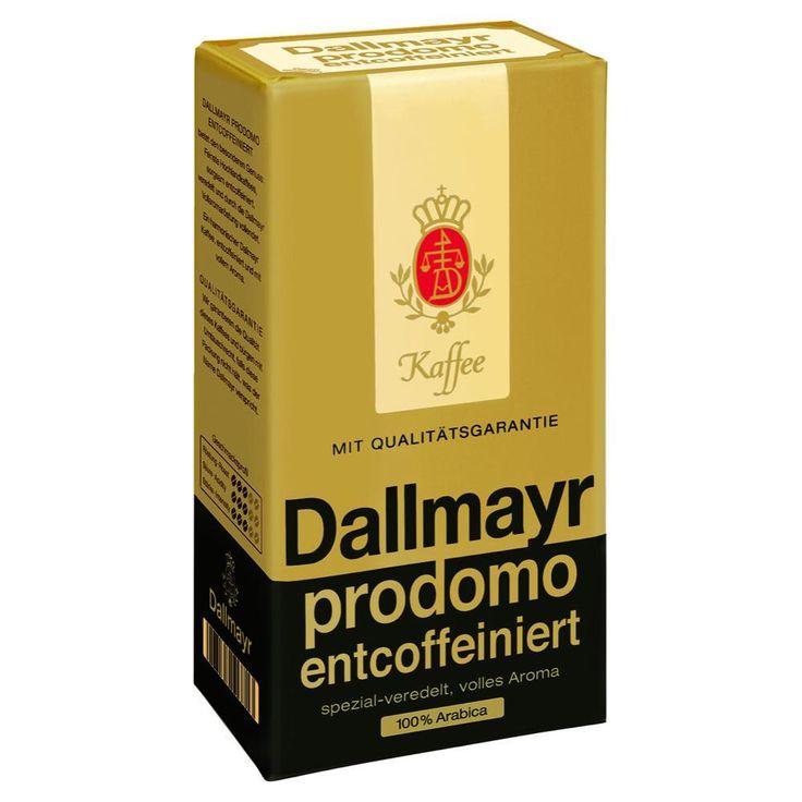 Кофе Dallmayr: узнаваемый качественный напиток из Европы