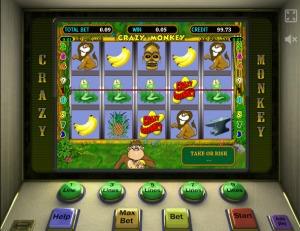Особенности игрового автомата Crazy Monkey