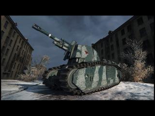 Французский премиум танк 105 leFH18B2: обзор