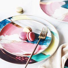 Произведение искусства на завтрак или какие тарелки выбрать