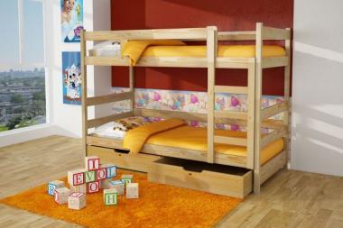 Плюсы двухъярусной кровати для ребенка