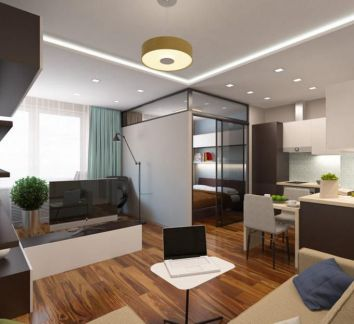 Особенности квартиры — студии