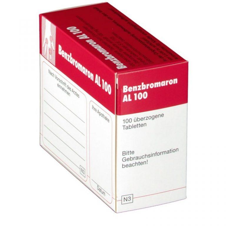Лекарство Бензобромарон инструкция по применению