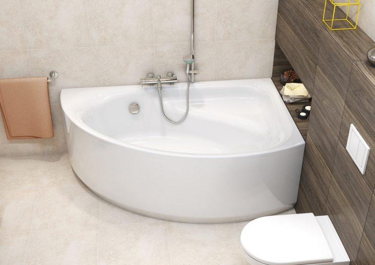 Преимущество угловых ванн