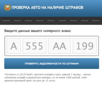 Проверка автомобиля по государственному номеру