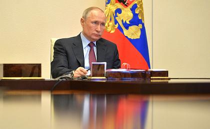 Путин отметил временный характер антикризисных мер в банковском секторе