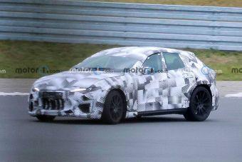 Ferrari тестирует свой первый кроссовер в «шкуре» Maserati Levante