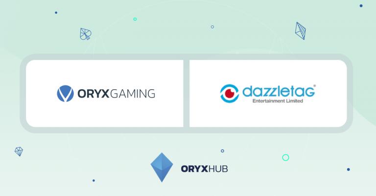 ORYX зобов'язується поставляти вміст RGS в онлайн-казино Dazzletag