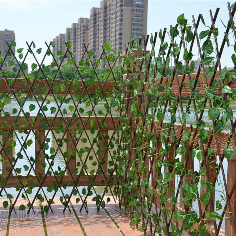 Зелёный забор Green Mix: декоративное искусственный ограждение