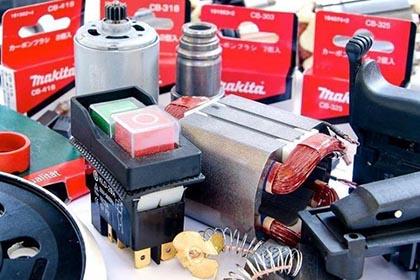 Виды запчастей для электроинструментов