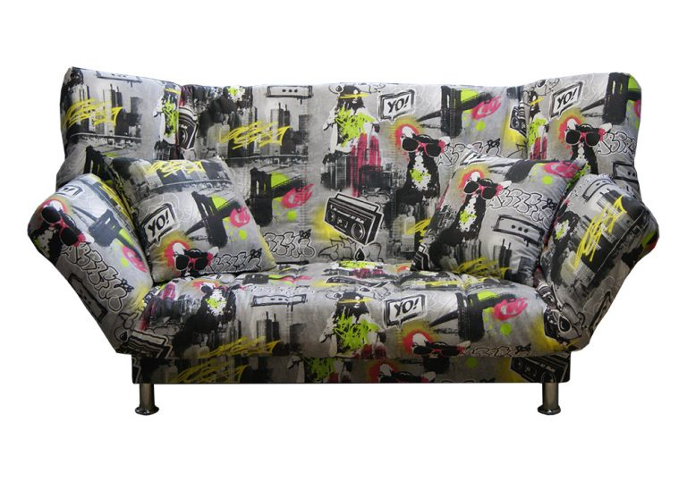 Разновидности диванов клик-кляк